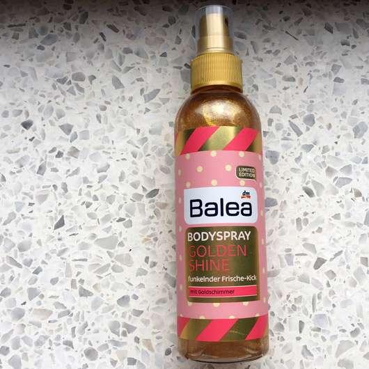Balea Bodyspray Golden Shine (LE) - Flasche