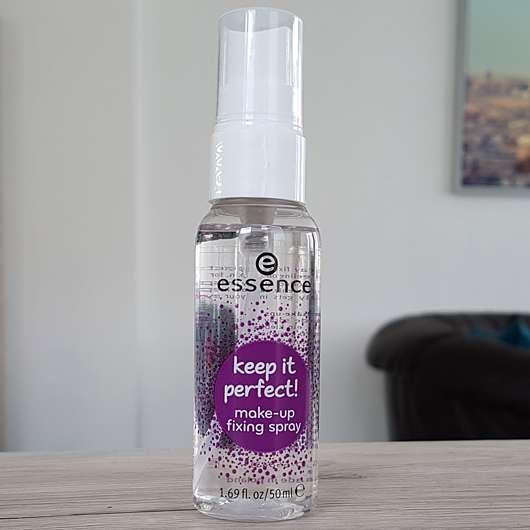 essence keep it perfect! make-up fixing spray