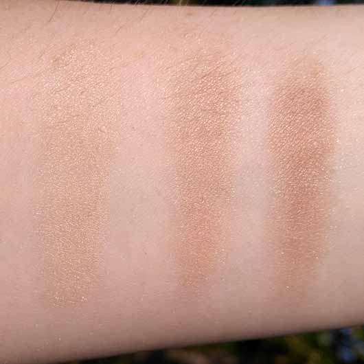 essence wanted: sunset dreamers fading bronzer, Farbe: 01 I'll never desert you (LE) - Swatches