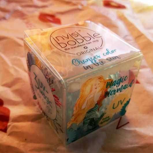 invisibobble ORIGINAL Mermaid Collection, Farbe: Ocean Tango (LE) - Verpackung
