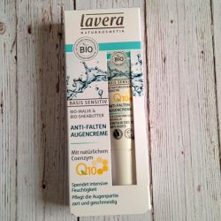 Produktbild zu lavera Basis sensitiv Anti-Falten Augencreme Q10