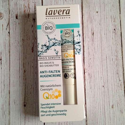 lavera Basis sensitiv Anti-Falten Augencreme Q10