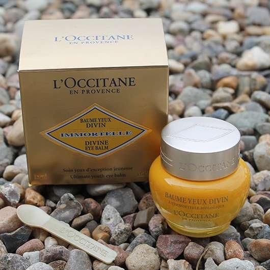 L'Occitane Immortelle Divine Augenbalsam - Verpackung und Tiegel