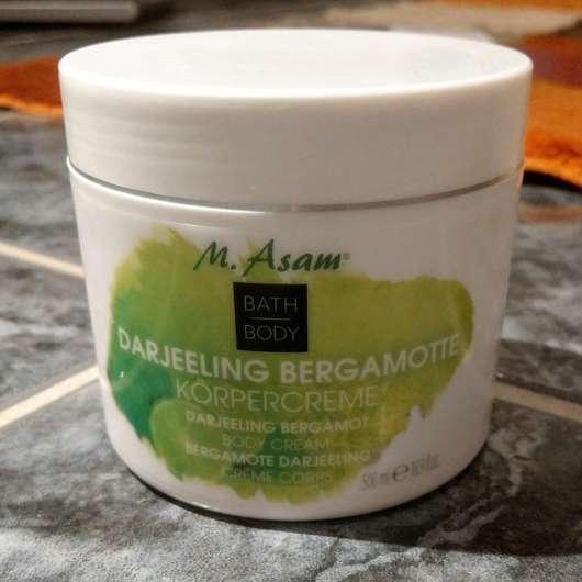 M. Asam Darjeeling Bergamotte Körpercreme - Tiegel
