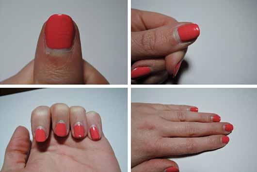 Sally Hansen Miracle Gel Duo Pack (Color Polish 210 + Top Coat) - Farbe auf den Nägeln nach sieben Tagen