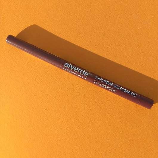 alverde Lipliner Automatic, Farbe: 15 Aubergine