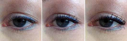 Bell HYPOAllergenic Long Wear Mascara, Farbe: Intense Black - Wimpern ohne und mit Mascara