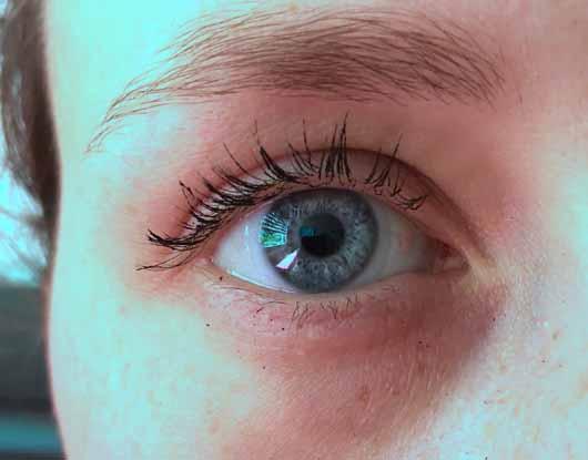 BeYu Triple Wow Mascara, Farbe: Black - Wimpern nach 10 Stunden mit Mascara