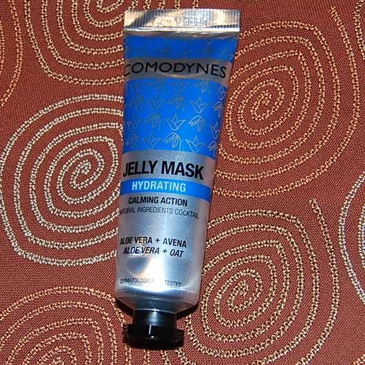 Comodynes Hydrating Jelly Mask mit Aloe Vera + Hafer - Tube