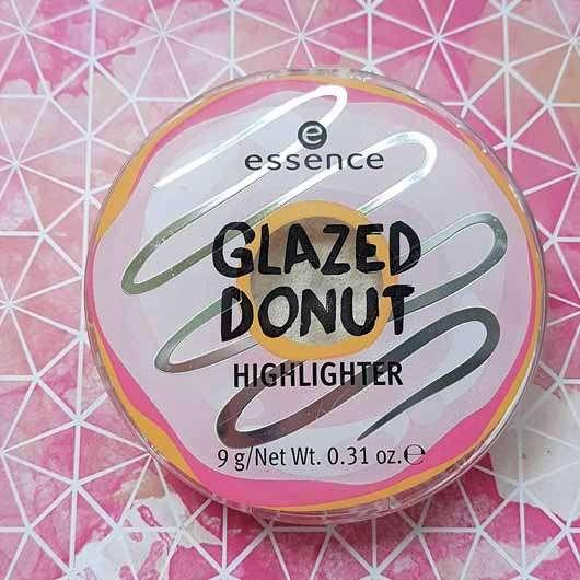 essence glazed donut highlighter - Verpackung