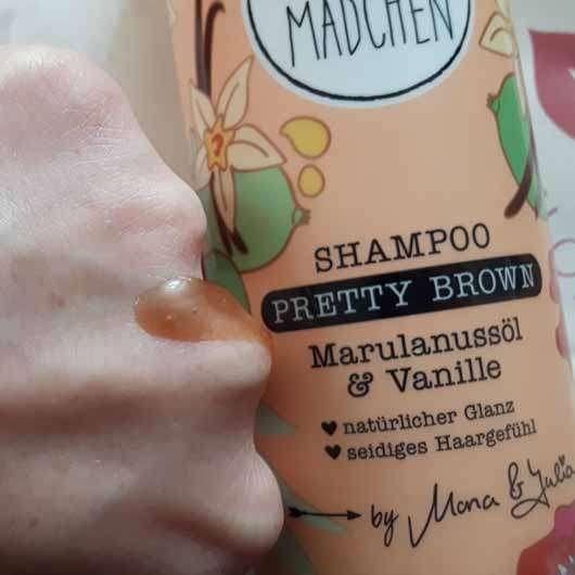 LANGHAARMÄDCHEN Pretty Brown Shampoo - Konsistenz