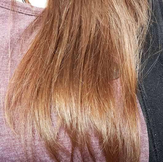LANGHAARMÄDCHEN Pretty Brown Shampoo - Haare vor der Anwendung