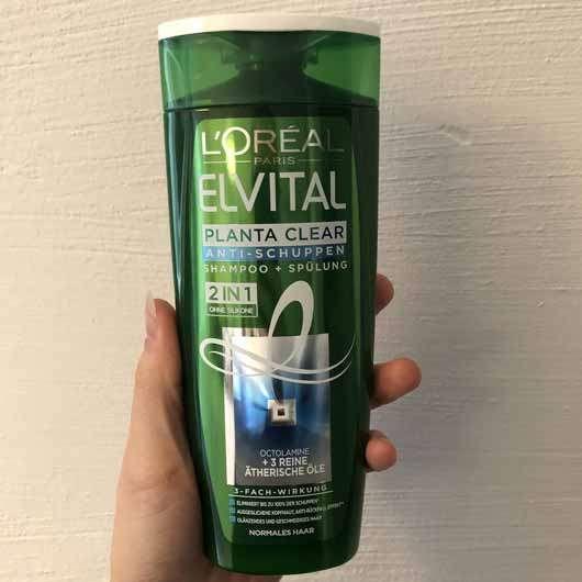 L'ORÉAL PARiS Elvital Planta Clear Anti-Schuppen Shampoo 2in1 - Flasche