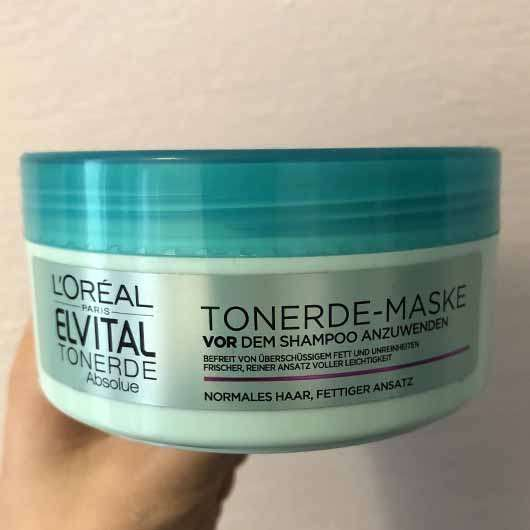 L'ORÉAL PARiS Elvital Tonerde Absolue Tonerde-Maske - Tiegel seitlich
