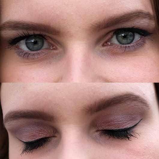 Misslyn Must-Have Eyeshadow Shades, Farbe: 2 Shades Of Rose - AMU mit den dunklen Farben