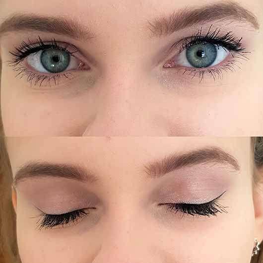 Misslyn Must-Have Eyeshadow Shades, Farbe: 2 Shades Of Rose - AMU mit den hellen Farben