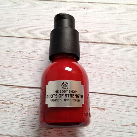 The Body Shop Roots of Strength Straffendes Serum - Flasche