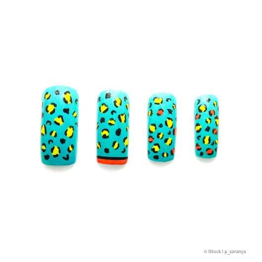 Leo-Look Nails 🐆