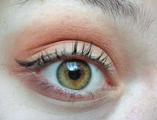 Augen Make-up mit Urban Decay Naked Petite Heat Palette