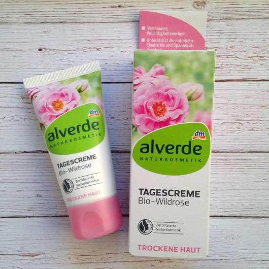 <strong>alverde Naturkosmetik</strong> Tagespflege Bio-Wildrose (trockene Haut)
