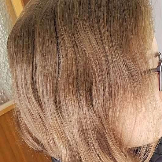 "alverde festes Shampoo ""Kokos"" - Haare vor dem Test"