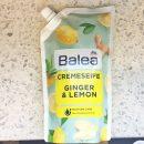 Balea Cremeseife Ginger & Lemon (Nachfüllpackung)