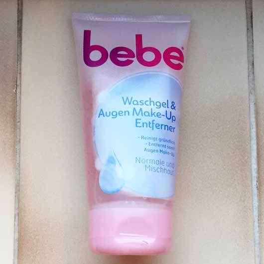 bebe Waschgel & Augen Make-Up Entferner - Tube