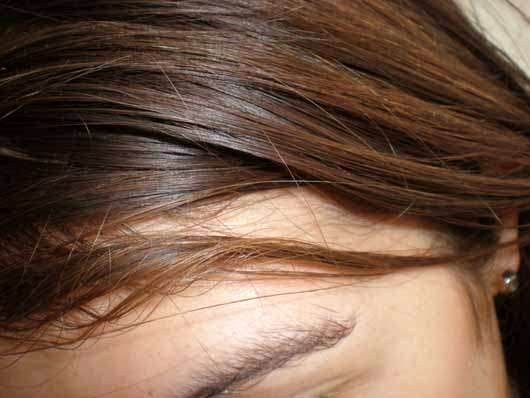 COLAB Good Vibes Dry Shampoo - Haare vorher