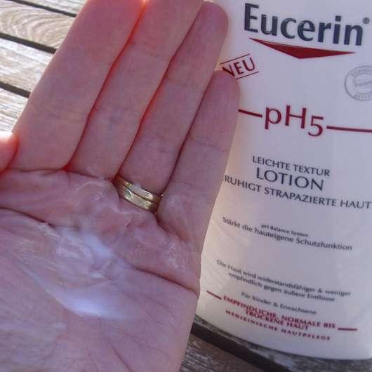 Eucerin pH5 Leichte Textur Lotion - Konsistenz
