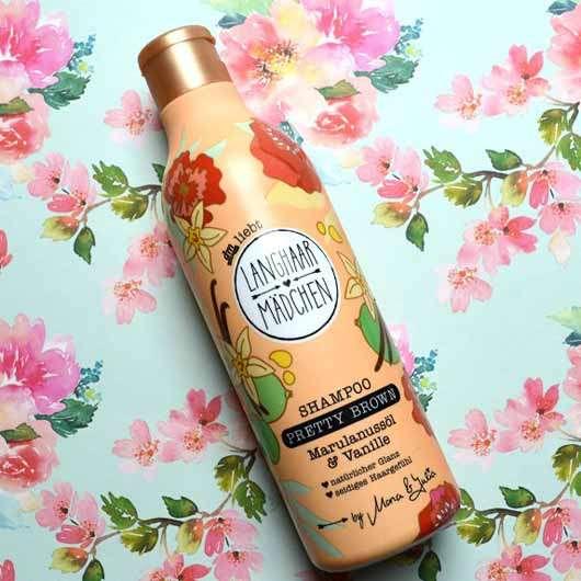 LANGHAARMÄDCHEN Pretty Brown Shampoo - Flasche