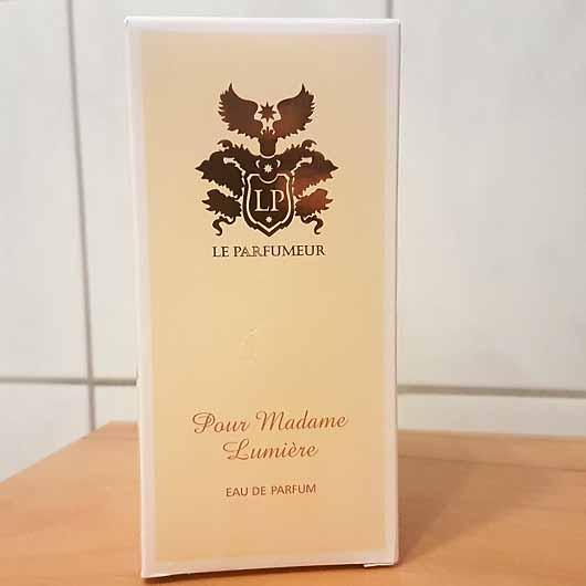 LE PARFUMEUR Pour Madame Lumière Eau de Parfum - Verpackung
