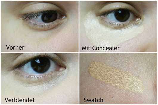 Make Up Factory Real Conceal, Farbe: 15 Soft Cream - Collage Augen