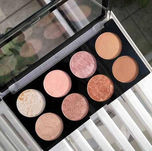 Makeup Revolution Ultra Blush Palette, Farbe: Golden Sugar - Palette geöffnet