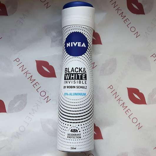 Nivea Black & White Invisible by Robin Schulz Deodorant Spray 48h (LE) - Flasche