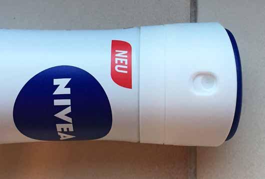 NIVEA Dry Active Anti-Transpirant Spray - Dosieröffnung