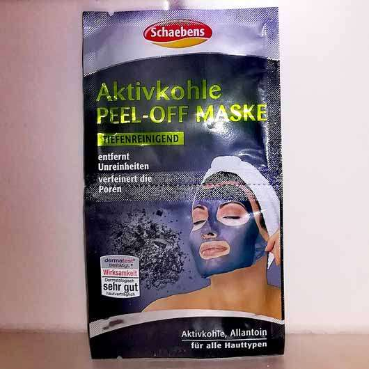 Schaebens Aktivkohle Peel-Off Maske - Sachet