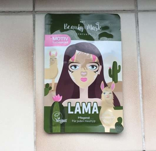 "The Beauty Mask Company Motiv-Tuchmaske ""Lama"""