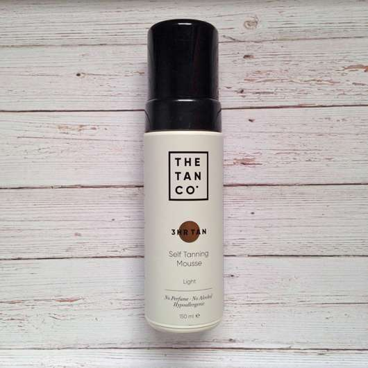 The Tan Co. Self Tanning Mousse 3 Hr, Farbe: Light