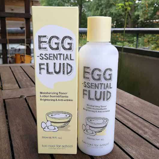too cool for school EGG-ssential Fluid Moisturizing Toner
