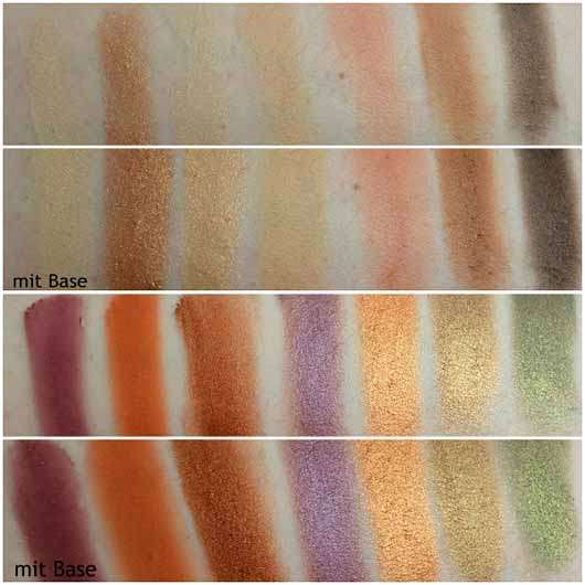Urban Decay Born To Run Eyeshadow Palette - Swatches
