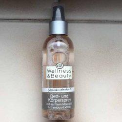 """Produktbild zu Wellness & Beauty Bett- & Körperspray """"federleicht unbeschwert"""""""