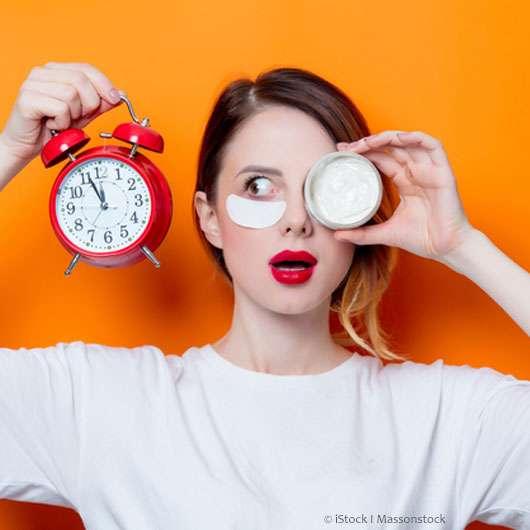 Die effektivste Zeit für Hautpflege