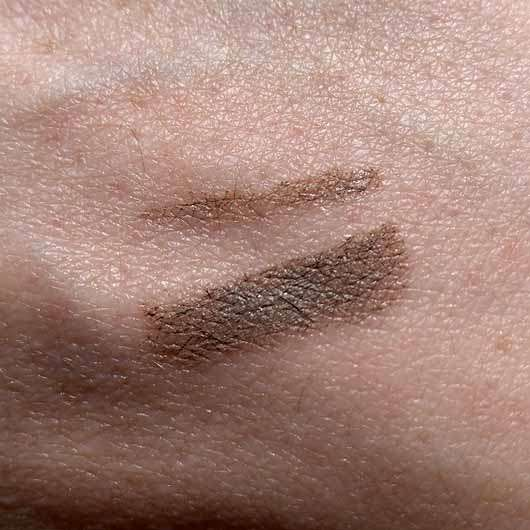 alverde Augenbrauenpomade, Farbe: Ash Taupe - Swatch