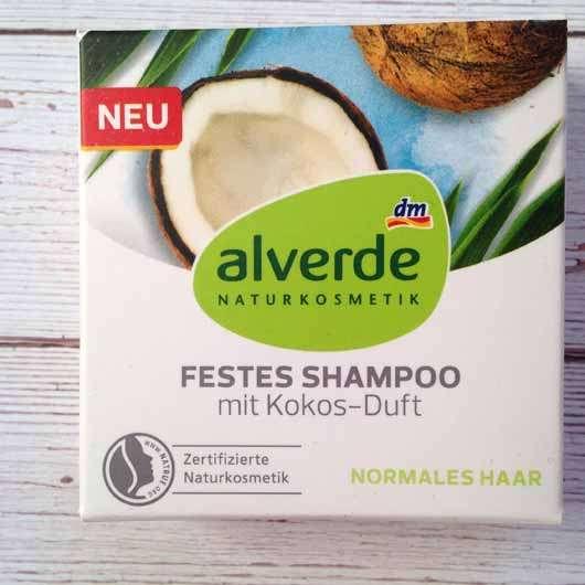 """alverde festes Shampoo """"Kokos"""""""
