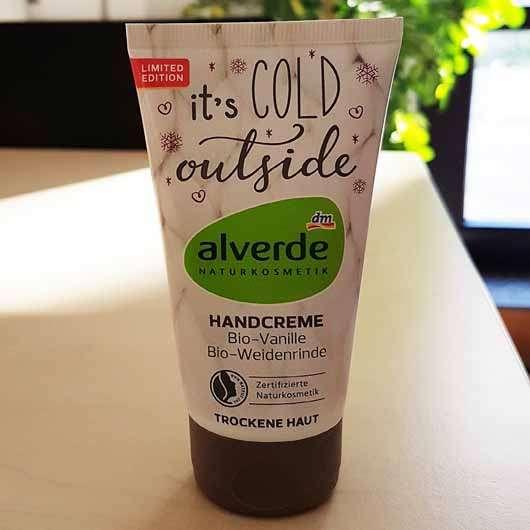 alverde It's cold outside Handcreme (LE)