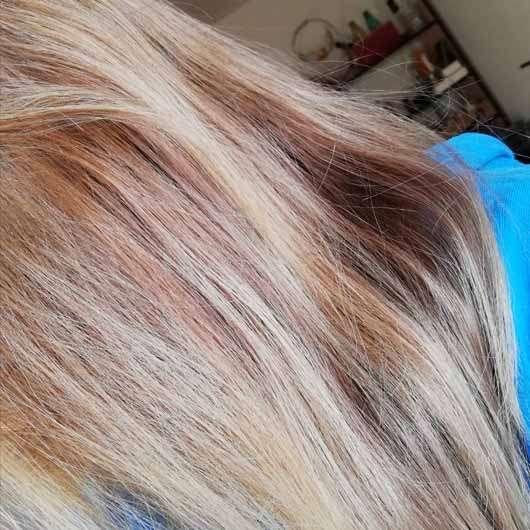 CD Naturkraft Aufbau Shampoo (Avocado & Macadamia-Öl) - Haare nach 4 Wochen Anwendung