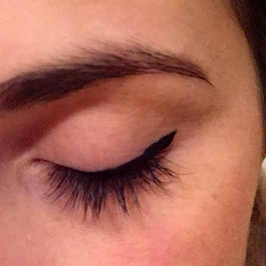 essence eyeliner pen waterproof, Farbe: 01 deep black - Lidstrich