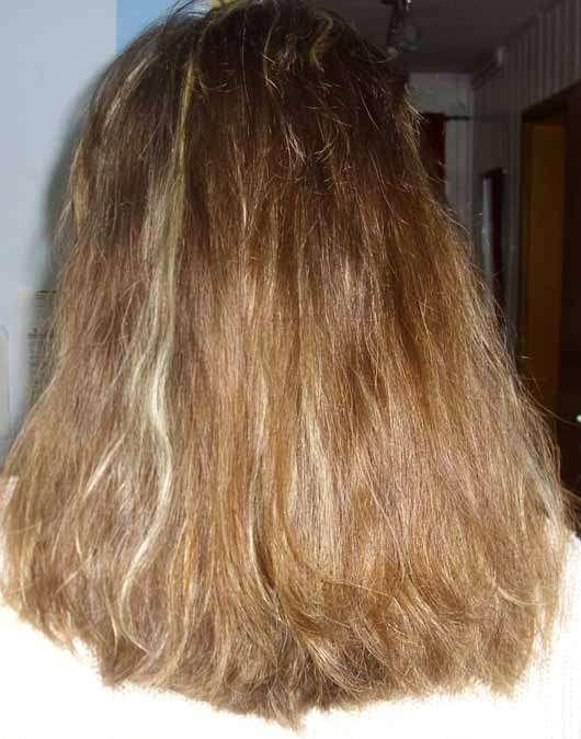 LANGHAARMÄDCHEN Pretty Brown Conditioner - Haare vor der Anwendung