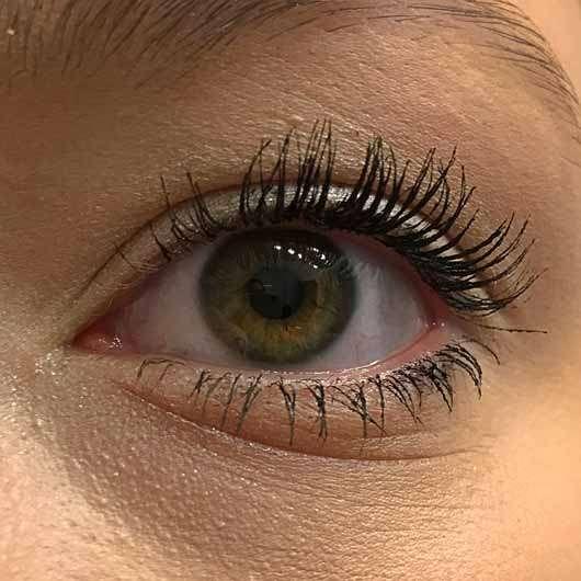 48755120fea L.O.V IllusionEYES 24h Volume & Length False Lash Effect Mascara, Farbe:  100 Black -
