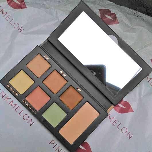 L.O.V THE GLAMouflage Matt Concealer Palette - Palette geöffnet